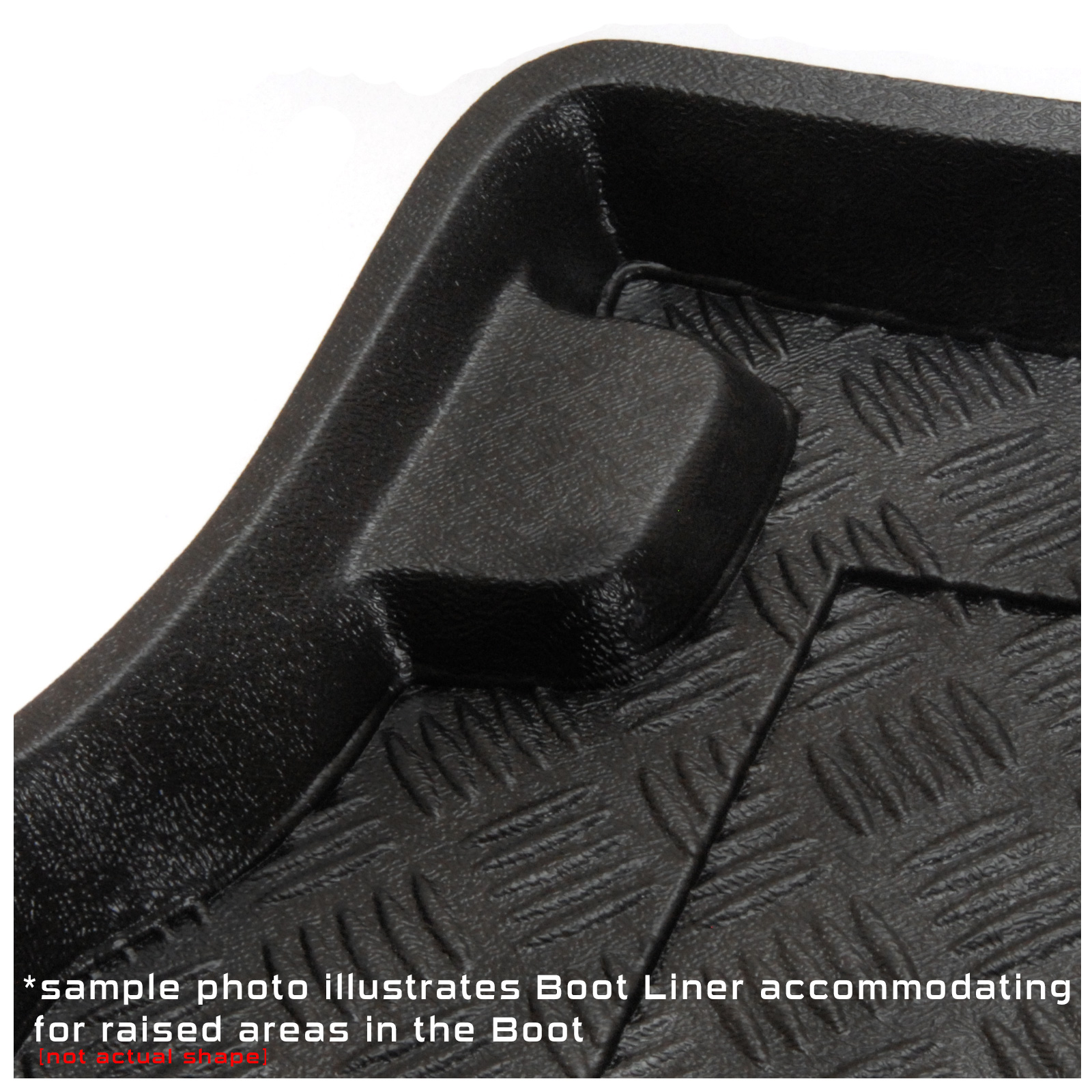 Rubber floor mats for jaguar xf - Jaguar Xf Saloon 2008 Onwards Fully Tailored Pvc Boot Liner