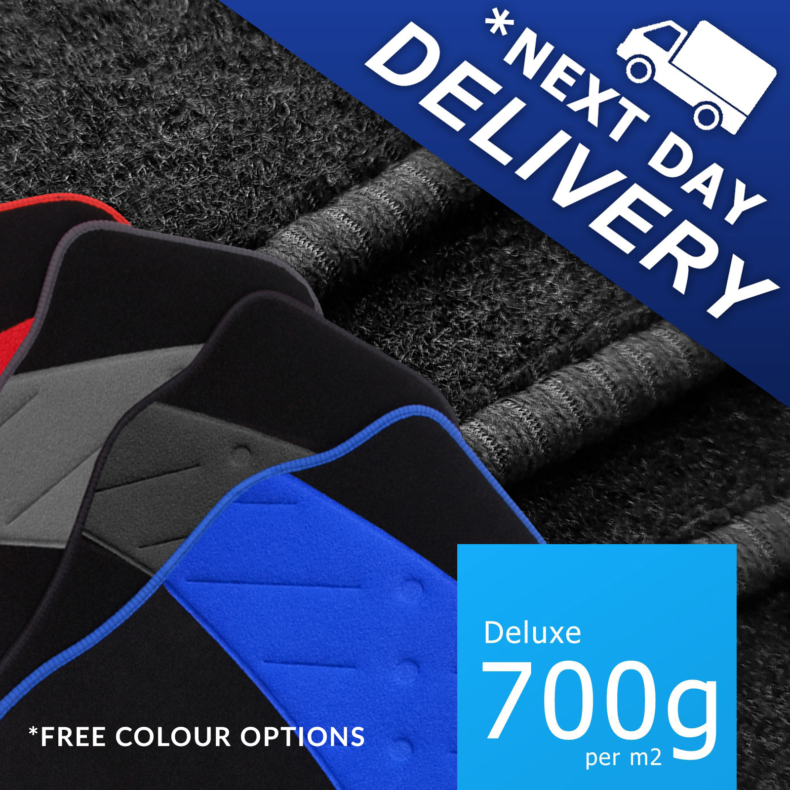 LHD 1991-2003 Peugeot 106 Car Mats Tailored Custom
