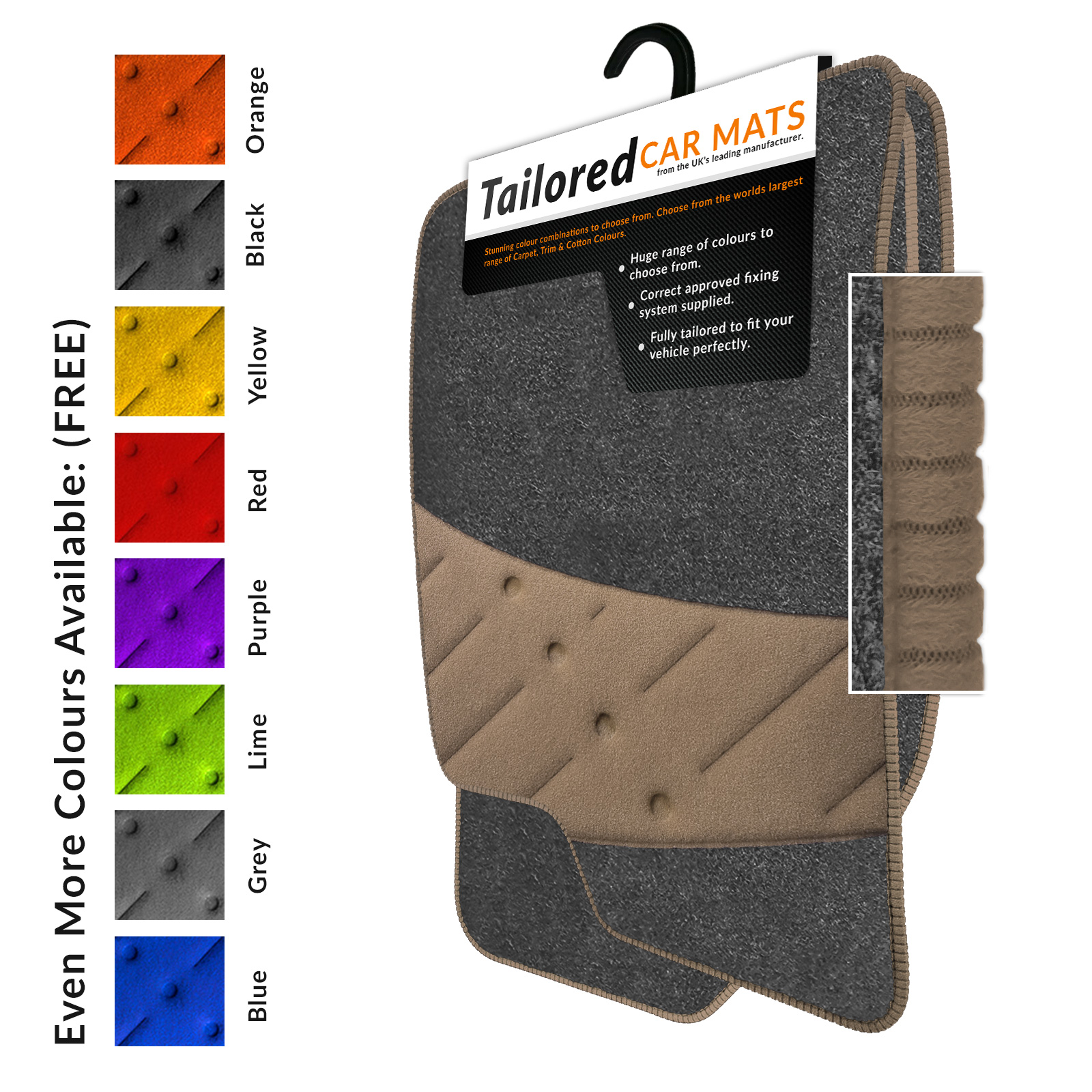 Renault-Scenic-II-2003-2009-Tailored-Floor-Car-Mats-Grey-B