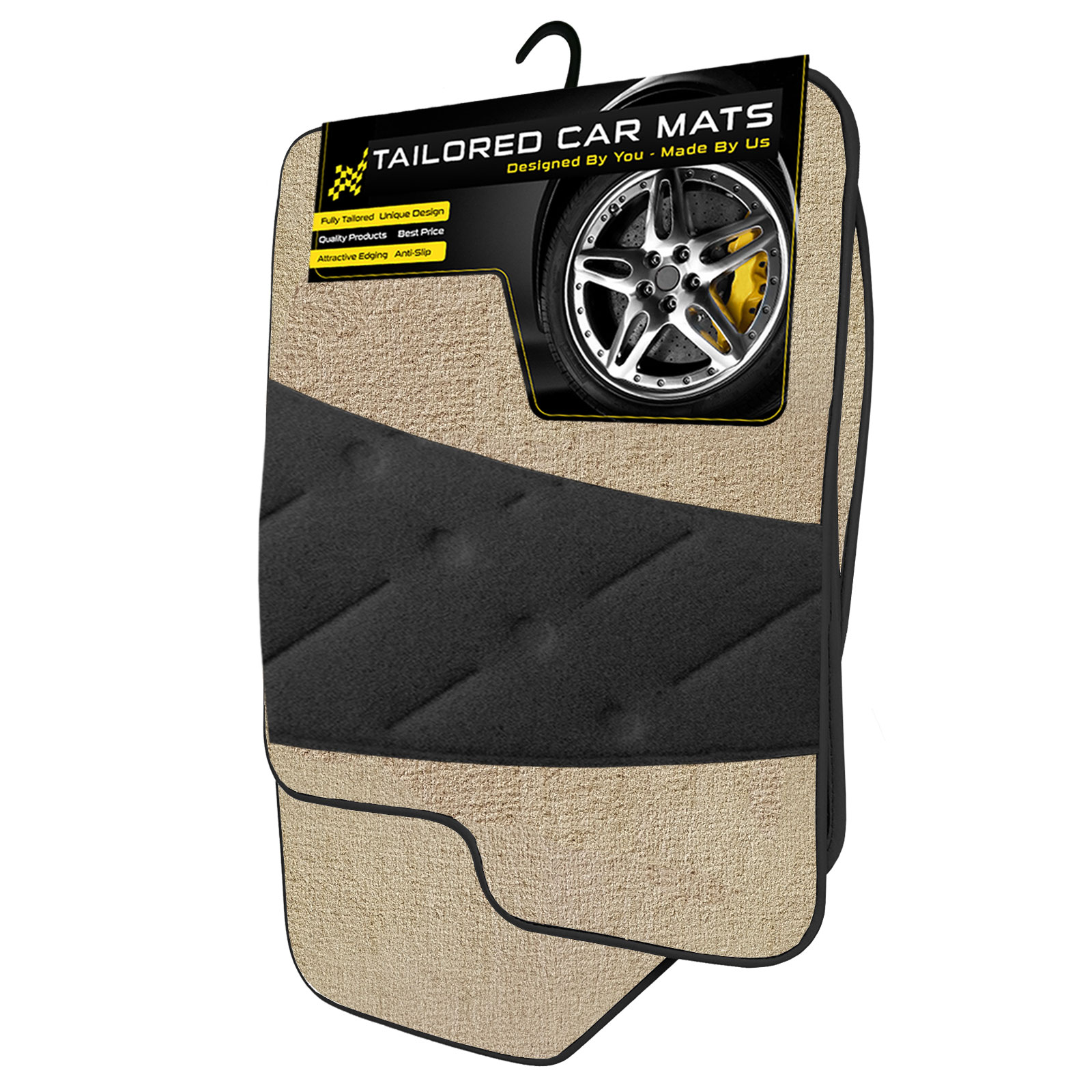 Tailored Deluxe Quality Car Mats Bmw e36 3series Convertible 1992-1998 ** Black