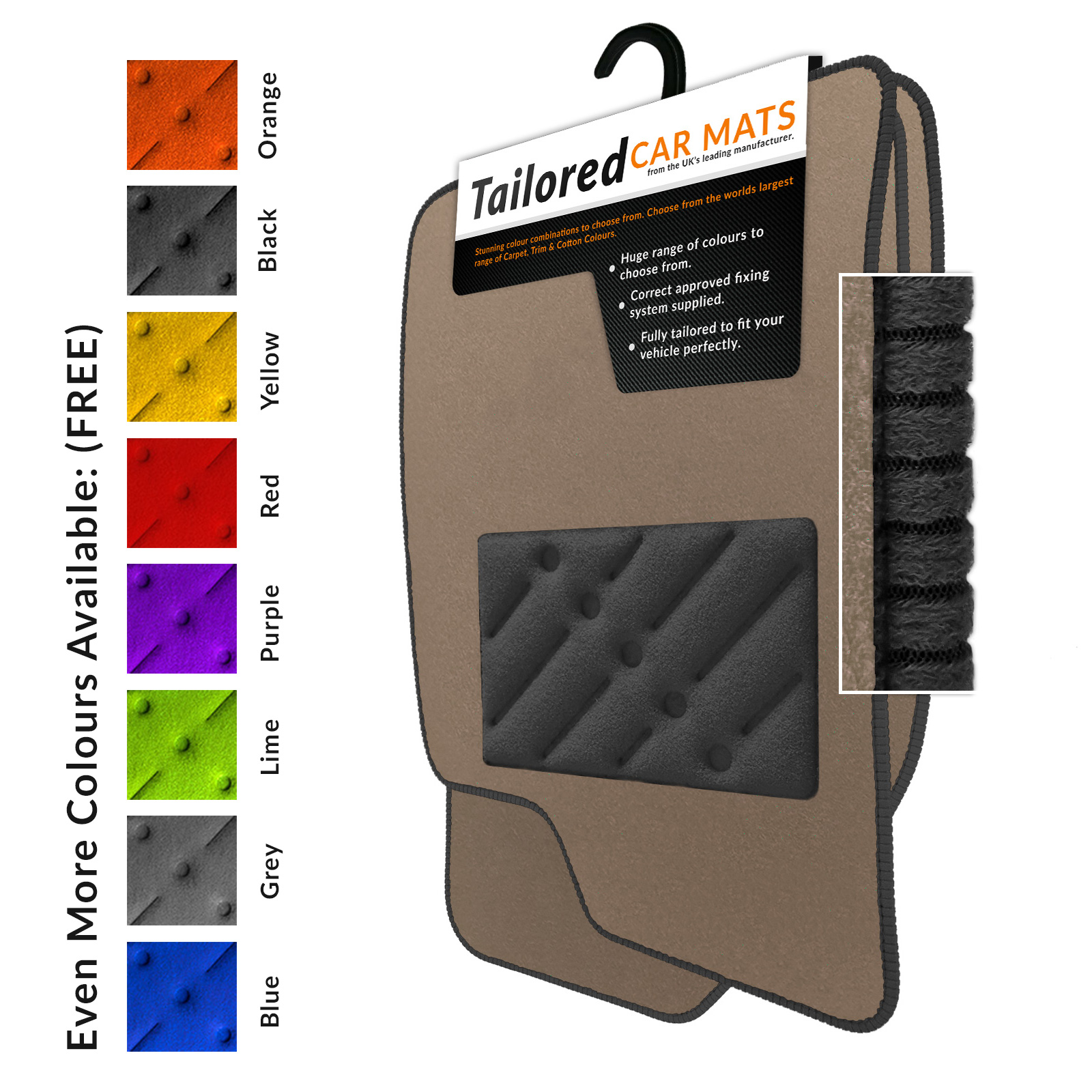 Details About Volvo Xc90 2002 2014 Tailored Beige Floor Car Mats B