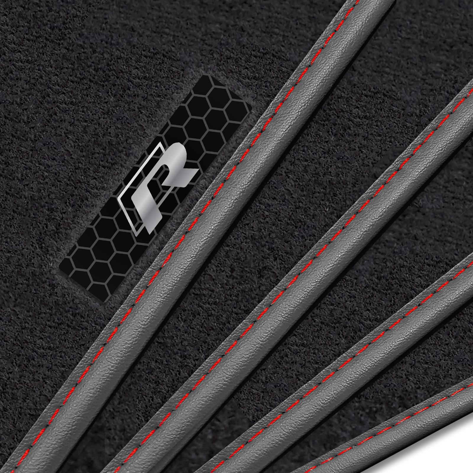 volkswagen tiguan 2008 2015 luxury car mats r line. Black Bedroom Furniture Sets. Home Design Ideas