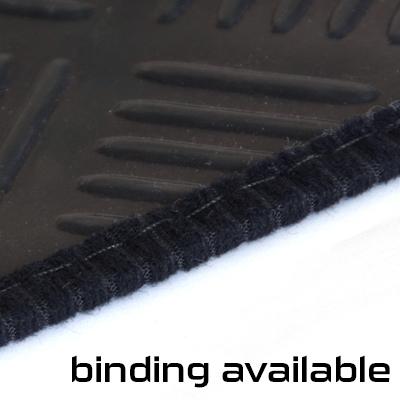 Black Garage Camper Van Floor Checker Plate Rubber