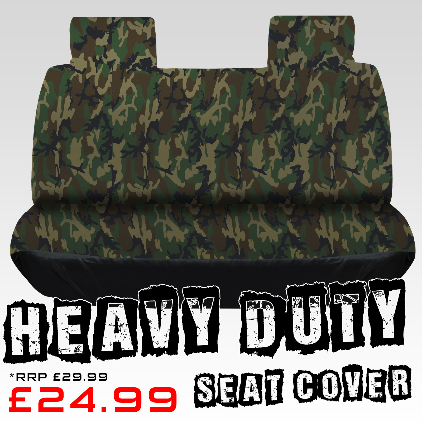 Army Universal Seat Cover Heavy Duty Protector 600d
