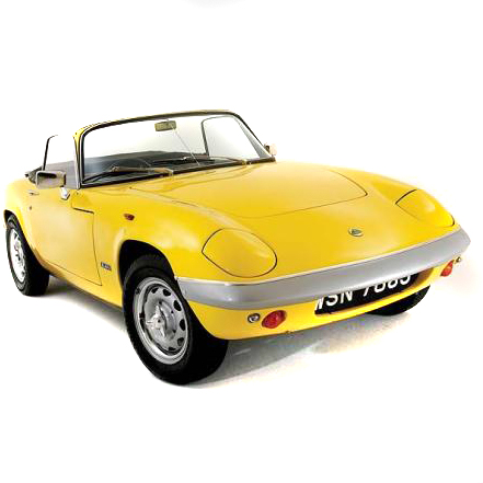 Lotus Elan 1972 Onwards