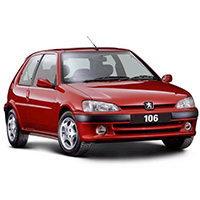 Peugeot 106 Boot Liners