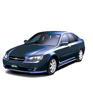Subaru Legacy Boot Liner (2004-2009)