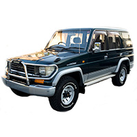 Toyota Land Cruiser SWB 2000-2007
