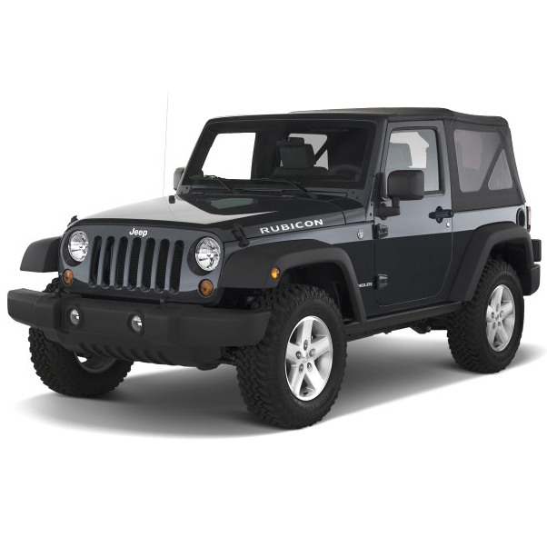 Jeep Wrangler (2 door) 2007 - 2014