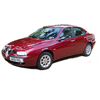 Alfa Romeo 156 Boot Liner (1997 - 2006)