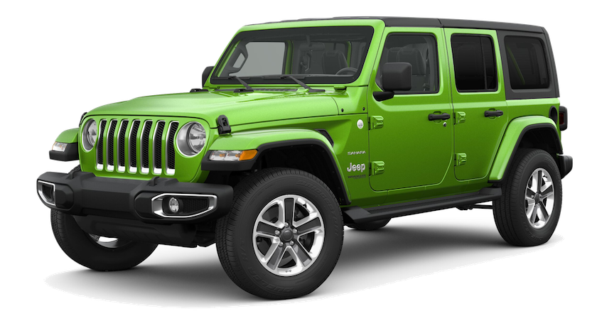Jeep Wrangler 2018 Onwards