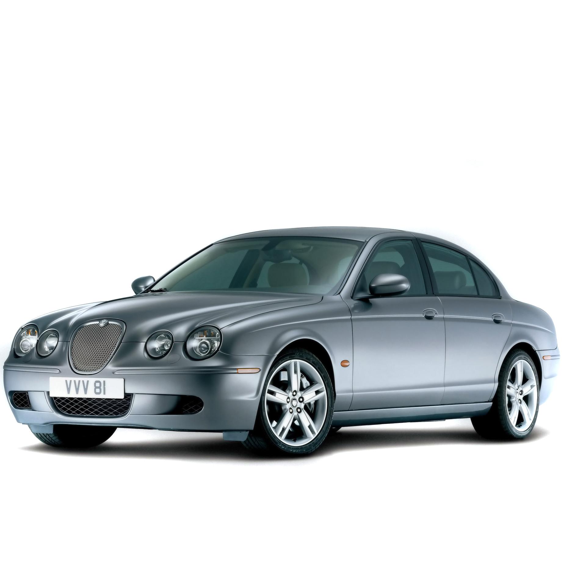 Jaguar S Type Mk3 2004 Onwards (manual)