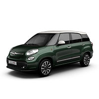 Fiat 500 MPW Boot Liners 7 Seats (2013 Onwards)