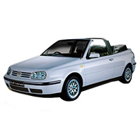 VW Golf Mk4 Convertible 1997-2004