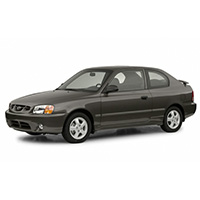 Hyundai Accent Boot Liners (All Models) (2000-2006)