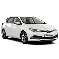 Toyota Auris Boot Liners