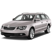 Skoda Superb Boot Liners (2008-2015)