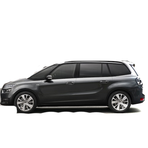 Citroen C4 Grand Picasso Boot Liners 2013 Onwards