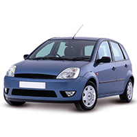 Ford Fiesta Boot Liner (2002-2008)