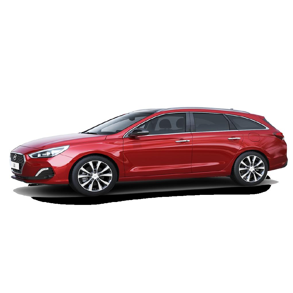 Hyundai i30 III Boot Liners (2017 - 2019)