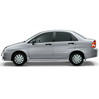 Suzuki Liana Boot Liners (2002 Onwards)