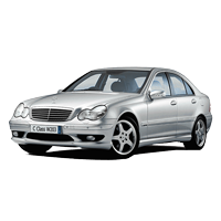 Mercedes C-Class W203 Boot Liners (2000 - 2007)