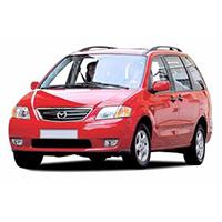 Mazda MPV Boot Liners
