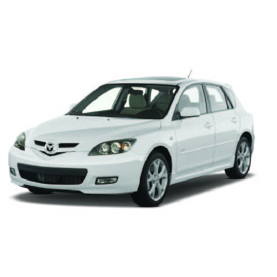 Mazda 3 Boot Liners (2003 - 2009)