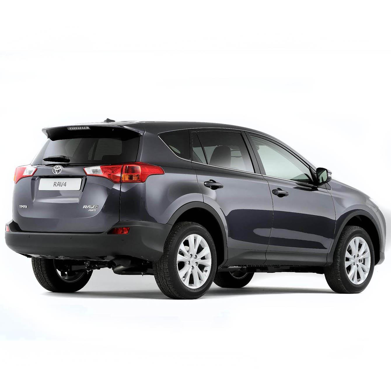 Toyota RAV 4 Boot Liners (2013 - 2018)
