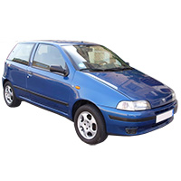 Fiat Punto Boot Liner (1993-1999)