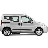 Fiat Qubo Boot Liner (2007 Onwards)
