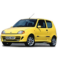 Fiat Seicento Boot Liners