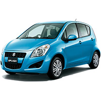 Suzuki Splash Boot Liners (2008 Onwards)