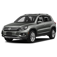 VW Tiguan Boot Liners
