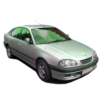 Toyota Avensis Boot Liners (1998-2003)