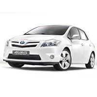 Toyota Auris Boot Liners (2007-2012)