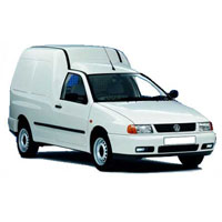 VW Caddy Boot Liner (1996-2004)