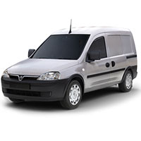Vauxhall Combo Boot Liners (2006-2011)