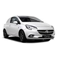 Vauxhall Corsa E Van Boot Liners (2014 - 2019)