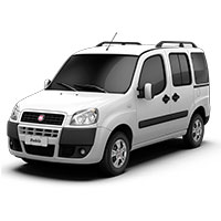 Fiat Doblo Boot Liners (2001 - 2009)