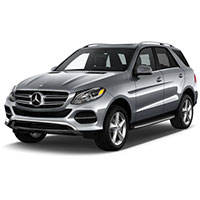 Mercedes GLE 2015 - 2019 Boot Liners