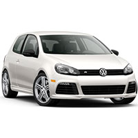 VW Golf Mk6 Boot Liners (2008 - 2013)