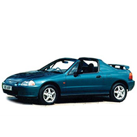 Honda CRX Del Sol 1992-1997