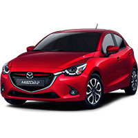 Mazda 2 Boot Liners 2015 Onwards