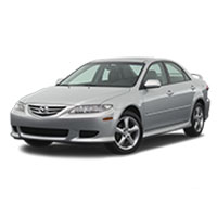 Mazda 6 Boot Liners (2002 - 2008)