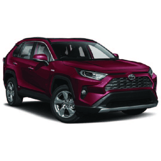 Toyota Rav 4 Hybrid 2018 Onwards