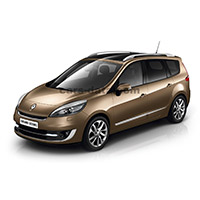 Renault Scenic Boot Liner (2009-2016)
