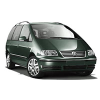 VW Sharan Boot Liners (1995-2010)