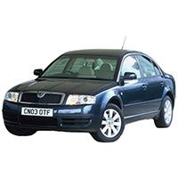 Skoda Superb Boot Liner (2002-2008)