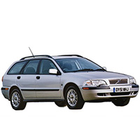 Volvo V40 Boot Liners (1996 - 2004)